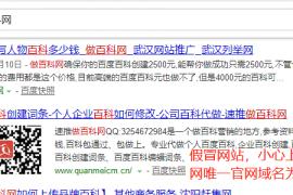 做百科网关于假冒网站的声明zuobaike.net唯一官方域名